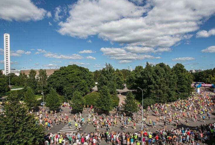 Хельсинкский городской марафон 2017