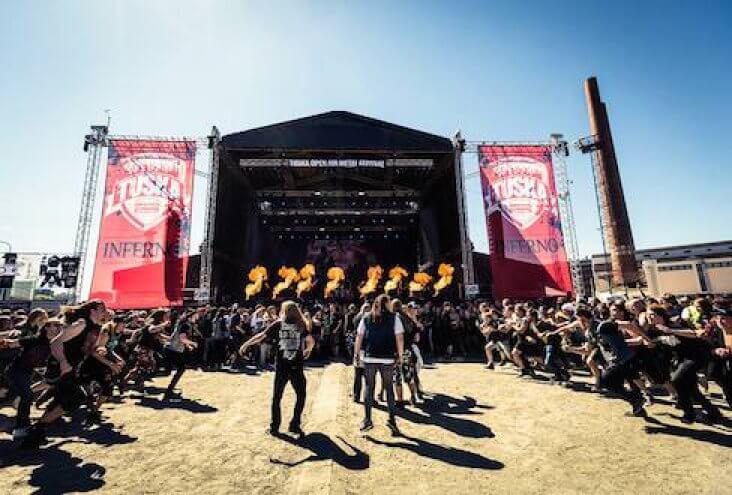 Музыкальный фестиваль Tuska