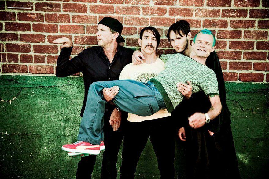 Концерт Red Hot Chili Peppers в Хельсинки